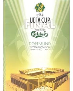 2001 UEFA Cup Press Pack Liverpool V Alaves, with update