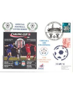 The Carling Cup Final 2005 Chelsea v Liverpool 27/02/2005 at Millennium Stadium Cardiff First Day Cover