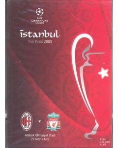 AC Milan V Liverpool Champions League 2005 Final