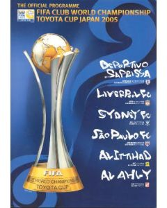 2005 FIFA Club World Cup Official Programme Covers Tournament