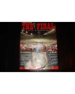 2005 Champions League Final Liverpool v Milan 25/05/2005 Turkish Edition programme in English