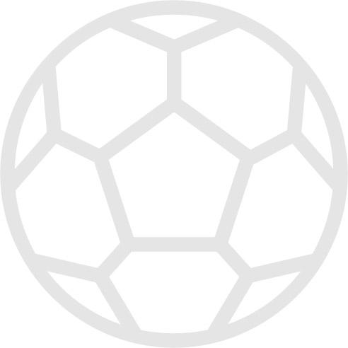 Chelsea v Liverpool official colour teamsheet 01/10/2000 Premier League
