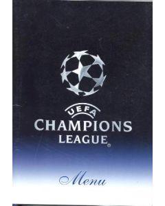 Chelsea v Liverpool menu 27/04/2005