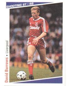 David Burrows Liverpool Shooting Stars Card