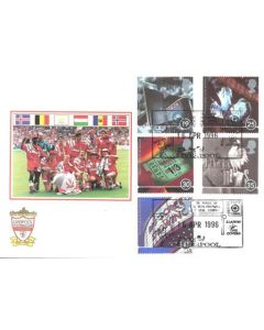 Liverpool FC First Day Cover 16/04/1996
