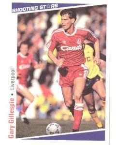 Gary Gillespie Liverpool Shooting Stars Card