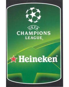 Heineken Champions League Liverpool v Real Betis 23/11/2005 Scratch Card