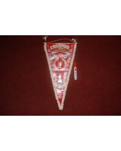 Liverpool Honours and European Champions 25/05/1977 in Rome Pennant