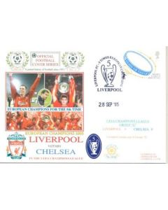 Liverpool v Chelsea First Day Cover 28/09/2005
