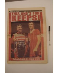 Liverpool Echo newspaper of 28/05/1985