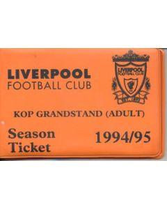 Liverpool season ticket 1994-1995