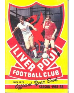 1987-1988 Liverpool official year book